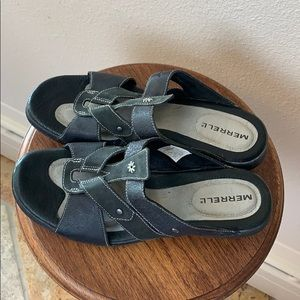 Merrell Size 8 Strappy Heeled Sandals